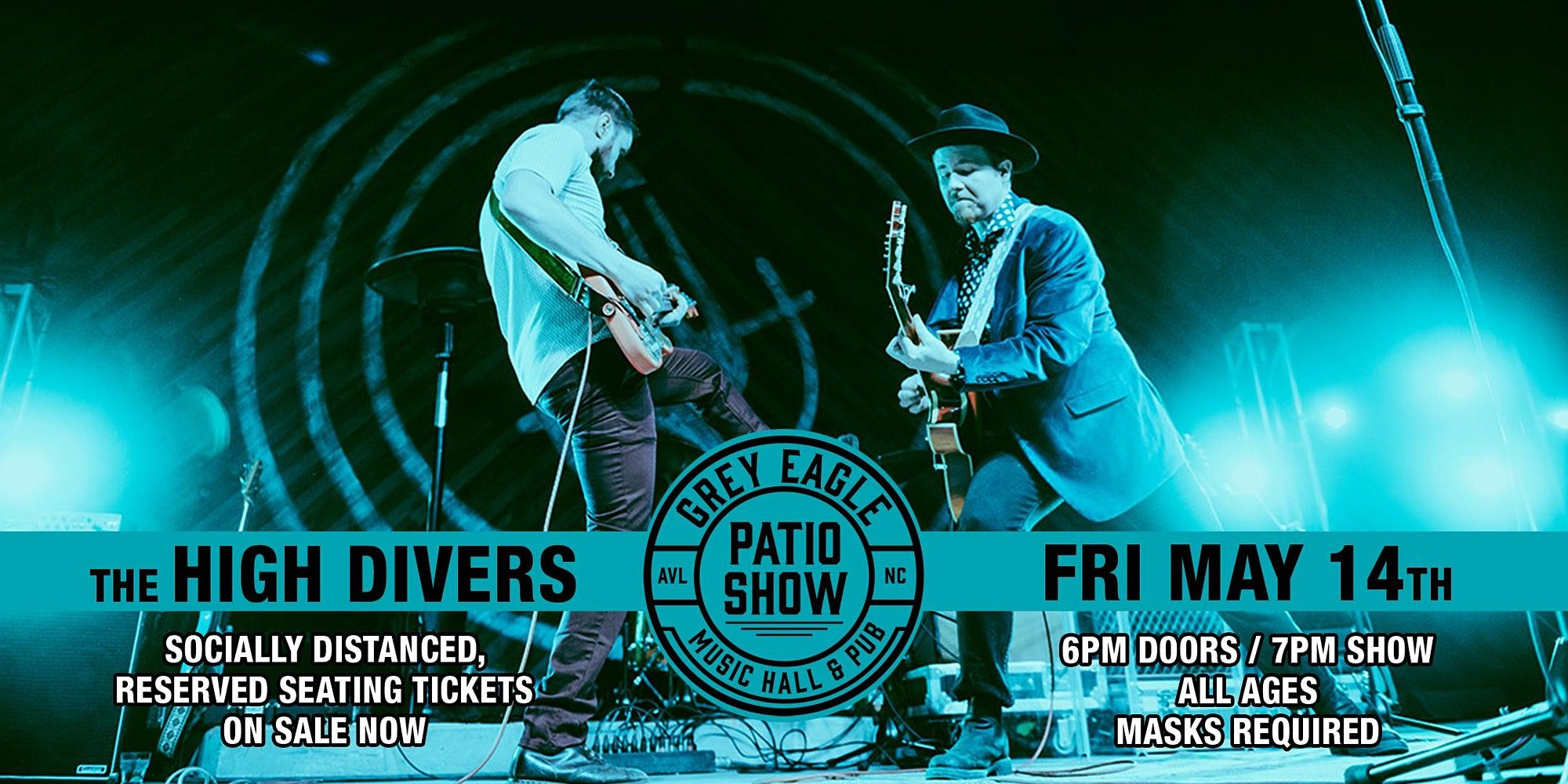 PATIO SHOW: The High Divers