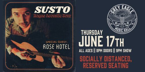 """MUSIC ROOM: Susto """"Rogue Acoustic Tour"""""""