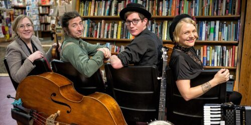 PATIO SHOW: The Resonant Rogues